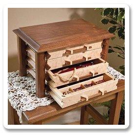Jewelry Box Plans azWoodcraftscom
